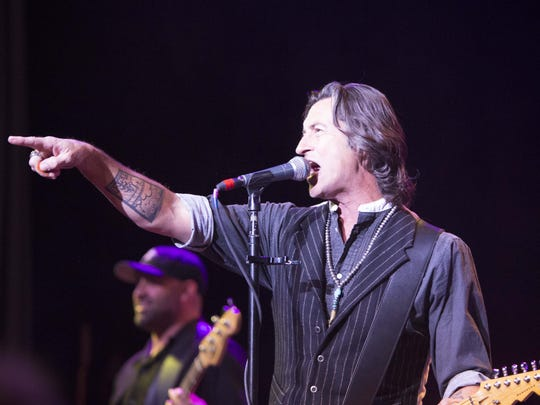 Roger Clyne of Roger Clyne and the Peacemakers performs