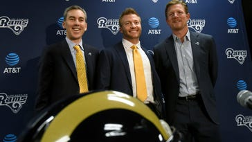 Young McVay brings energy, passion to coaching job with Rams