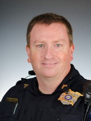 Pendleton Police officer Cpl. John Marano