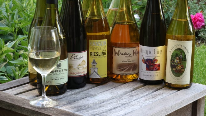 The wineries of the Cascade foothils offer some interesting white wines to try this summer.