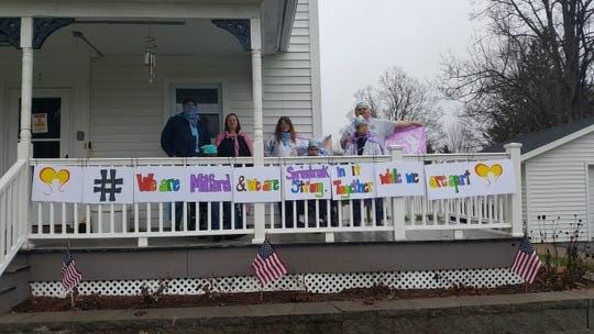 Springbook's community residential homes held a porch decorating contest to stay busy during COVID-19.