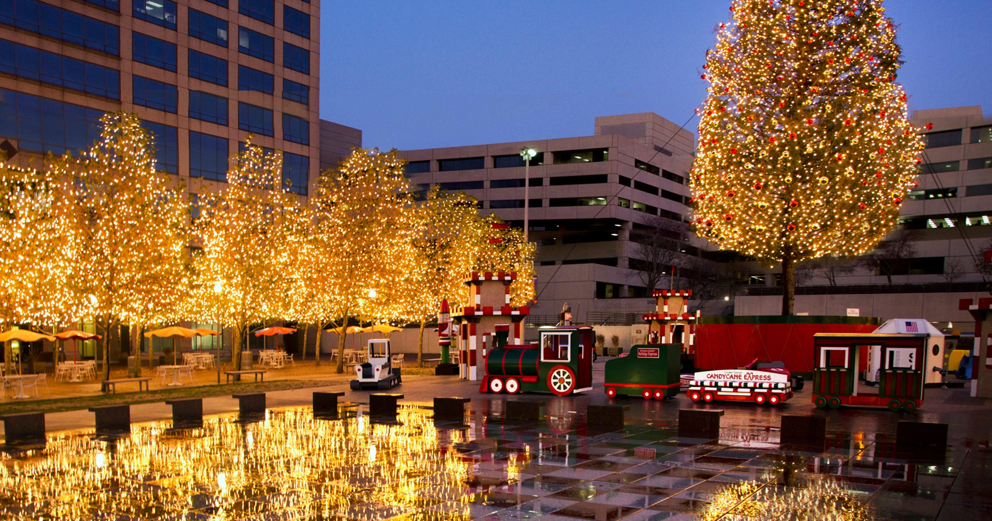 Visit Kansas City for a holiday getaway this season