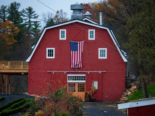 Raj Bhakta has renovated a 100-year-old barn in Shoreham,