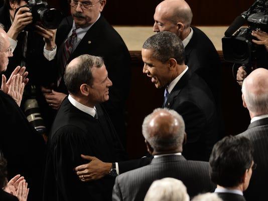 Supreme Court Roberts Obama