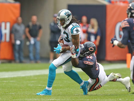 NFL: Carolina Panthers at Chicago Bears