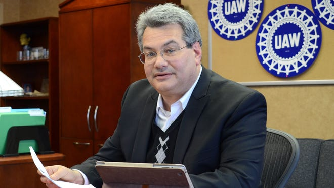 Brian Rothenberg is taking over the top communications job at the United Auto Workers as the union enters a fascinating year.