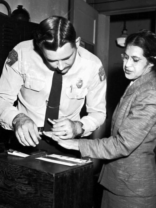 61 Years Ago Today Rosa Parks Refused To Give Up Her Seat On The Bus