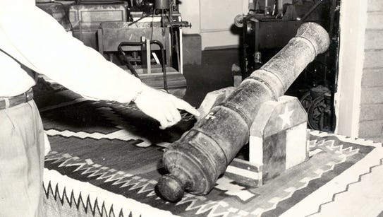 10/14/1959 MCGINTY CANNON FOUND - Paul Howell has the