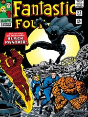 "The Black Panther was introduced in a 1966 issue of ""Fantastic Four."""