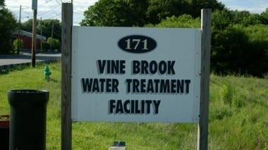 Vine Brook Water Treatment Facility is one of two in Burlington.