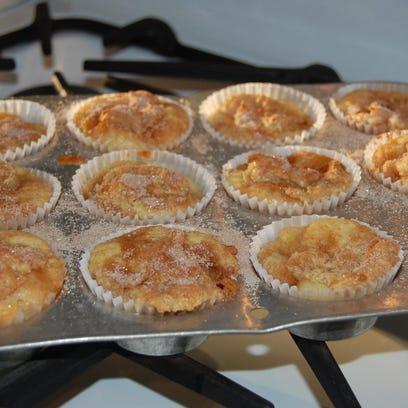 Creamy Peachy Muffins
