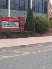 Allen Elementary School would be closed under recommendations set to be presented Tuesday to the Board of Education.