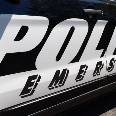 Emerson police vehicle