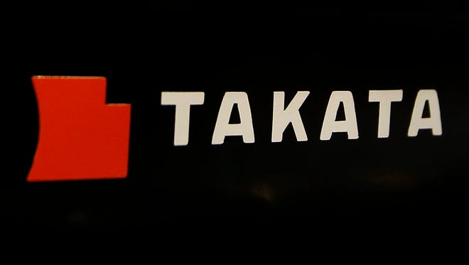 Troubled air bag maker Takata is expected to file for bankruptcy protection by Monday.