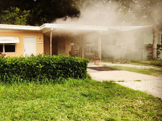 House fire in Fort Pierce