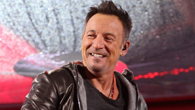 Bruce Springsteen: He has a song for the governor of New Jersey.