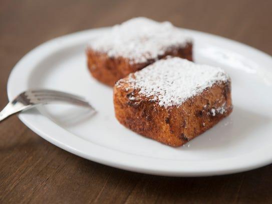 The Crema Fritta dessert at Porta in Philadephia.