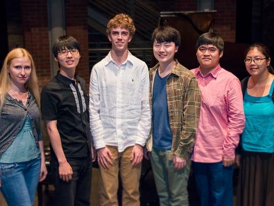 Piano semifinalists