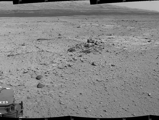 Mars Curiosity autonav
