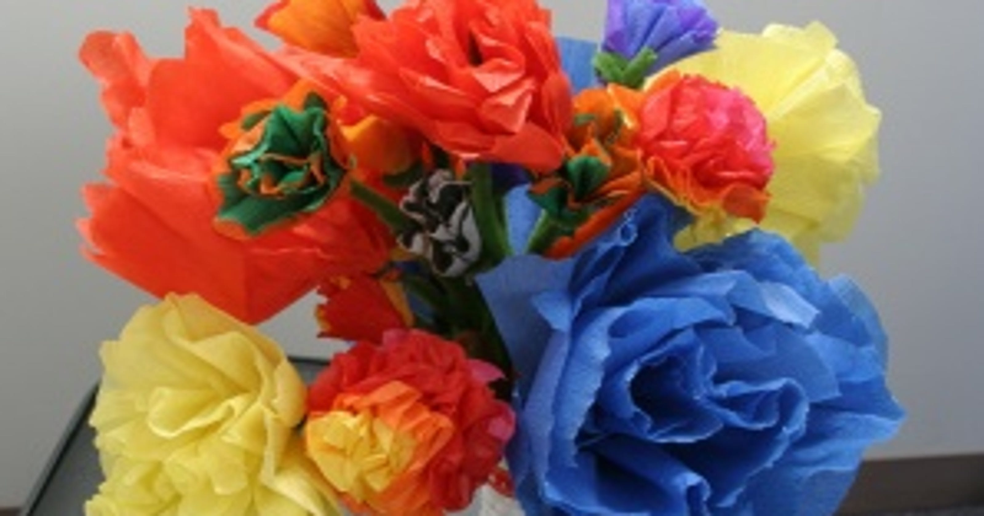 Day Of The Dead Crafts Easy Paper Flowers