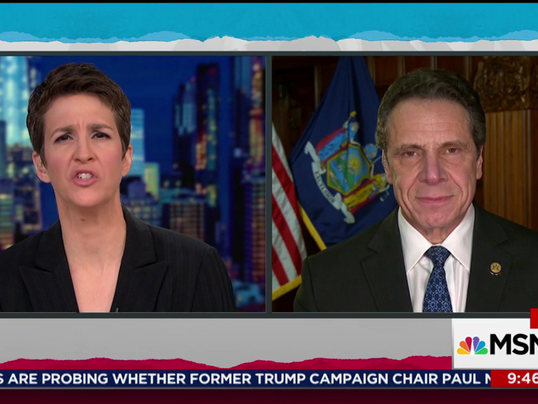 Cuomo on Maddow