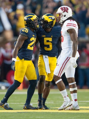 Jourdan Lewis and Jabrill Peppers