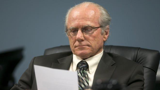 Commissioner Robert Burns.