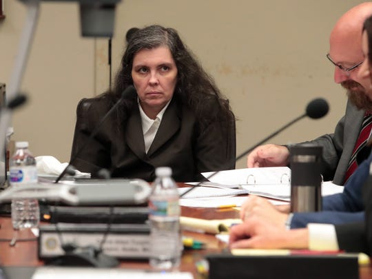 Louise Turpin appears at her preliminary hearing at