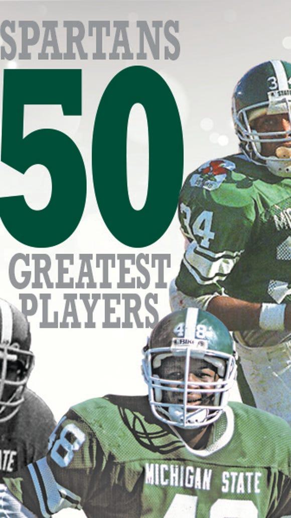 MSU football top 50 logo
