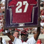 Florida State retired Terrell Buckley's No. 27 jersey in 2011. He hold the school records for interceptions for a career (21) and season (12).