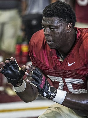 Cameron Erving is looking forward to his final season at Florida State.