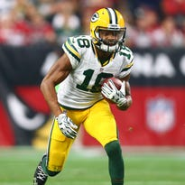 Packers wide receiver Randall Cobb had 79 catches for 829 yards in 2016.