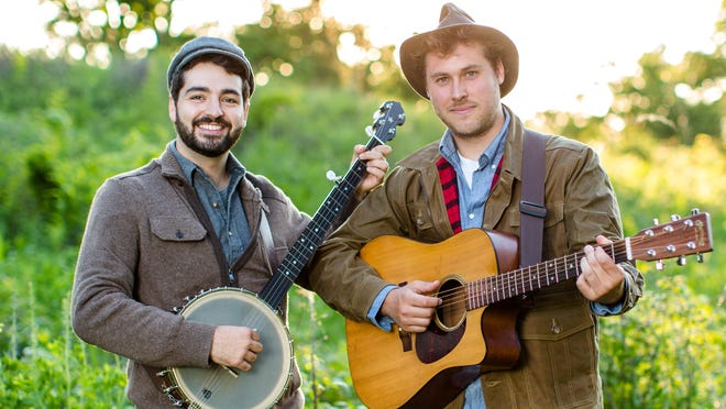 The Okee-Dokee Brothers are coming to the McCallum Theatre for a family show.