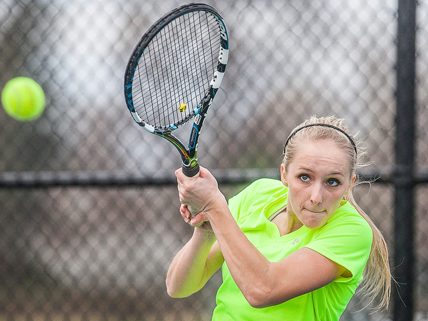 Rebecca Hollowell will lead Central into the postseason starting with a challenging Yorktown team.