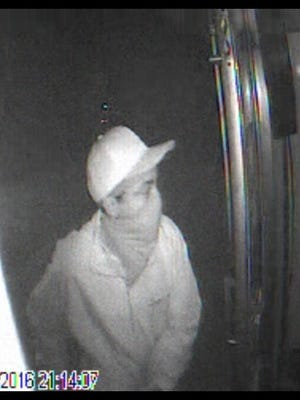 Anderson County Sheriff's Office investigators are asking for the public's help to identify the person in this photo in relation to an armed robbery Oct. 5 at a convenience store.