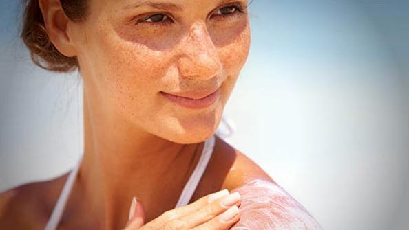 Sunlight helps the cells in our skin to make vitamin