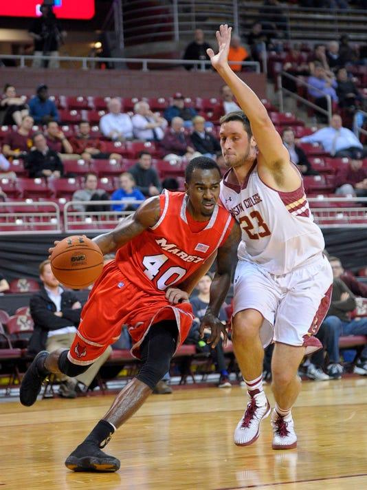 NCAA Basketball: Marist at Boston College
