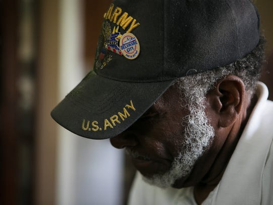 Willis Phelps, Jr., an 80-year-old Delaware Army National