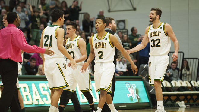 The University of Vermont men's basketball team plays host to Maine in Wednesday's quarterfinal round of the America East playoffs. UVM is riding a five-game winning streak.
