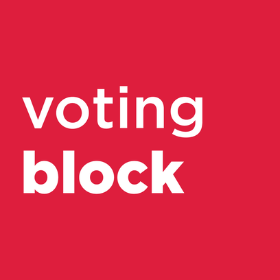 Voting Block.