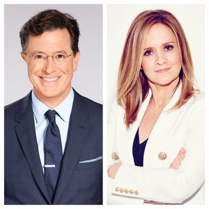 """""""SAD! A Happy Evening with Stephen Colbert and Samantha"""