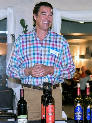 John McGregor, vice-president of McGregor Vineyard on Keuka Lake, was the guest speaker at a recent meeting of the newly-chartered American Wine Society Chapter of the Southern Finger Lakes.