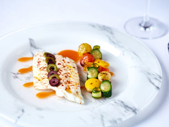 Daurade, a fish common in France, will be on the menu