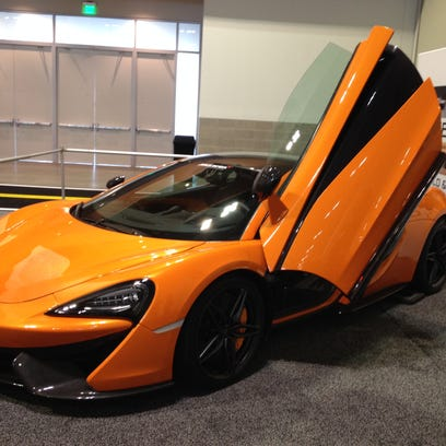 The McLaren 570S prototype was featured at the Nashville