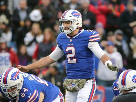 Bills rookie quarterback Nathan Peterman will get the