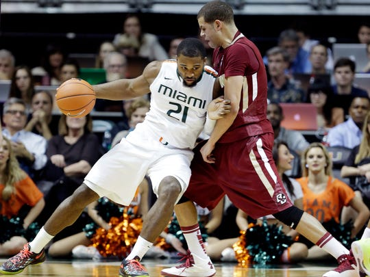 In four seasons at Miami, Swoope totaled 291 career points, 186 rebounds and 37 steals.