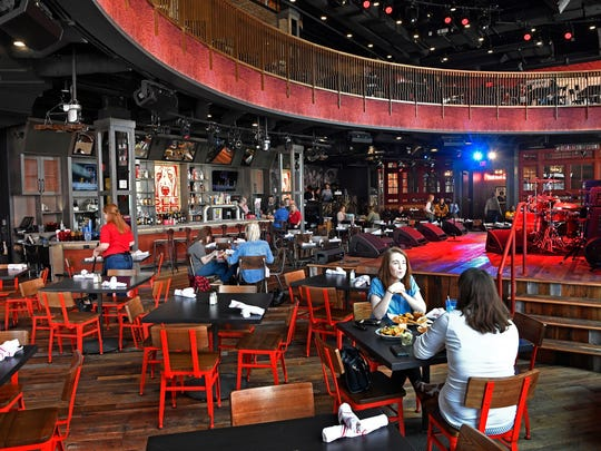 Ole Red Honky Tonk at the corner of Third and Broadway has a state of the art sound system, stage area, and 4 levels including a rooftop bar and is  Ryman's newest business venture