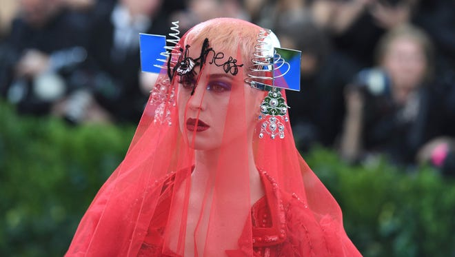 From her Met Gala dress to...everything else on her 'Witness' album cycle, Katy Perry keeps doing too much.