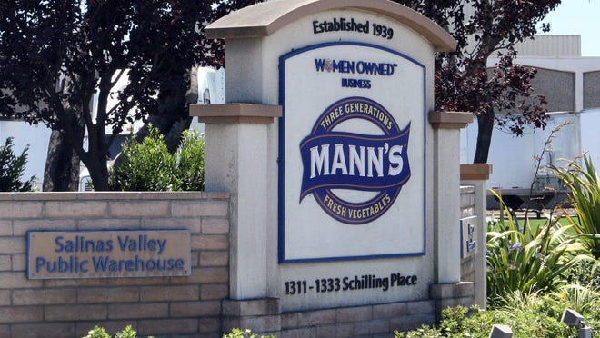 Mann Packing of Salinas, Calif., alerted buyers that several vegetable products were being voluntarily recalled.