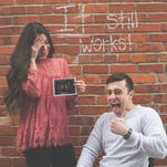 Ohio couple announces pregnancy with the funniest photo